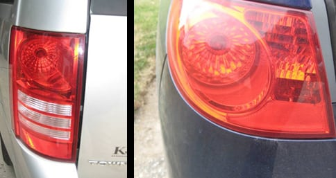Example of tail light - Change a tail light
