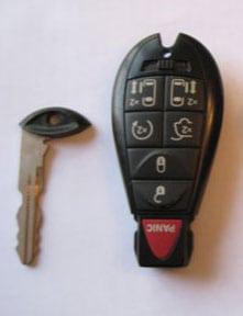 valet key with non-metal transponder key - auto keys