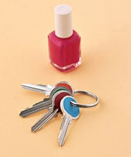 nail polish key organizer