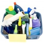 cleaning supplies for keep mice out of your car
