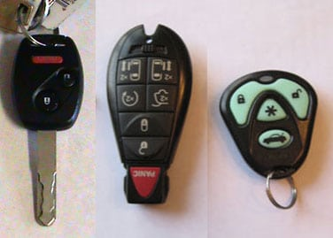 sample key remote