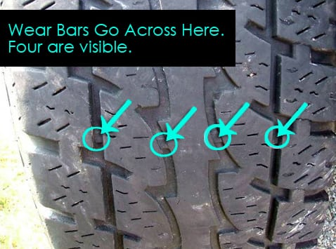 wear bars for tires