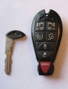 valet key with non-metal transponder key - auto keys