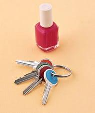 nail polish key organizer